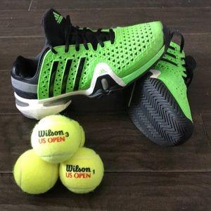 Adidas Barricade tennis shoe size 9.5